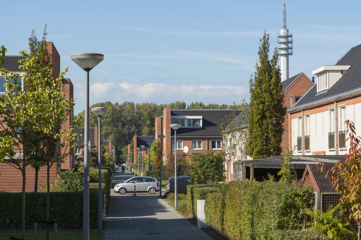 De Nijl Architecten - Pendrecht - Stedenbouwkundig plan Tuin op het Zuiden