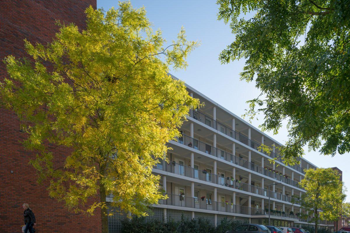 De Nijl Architecten - Woongebouw Dinteloordstraat