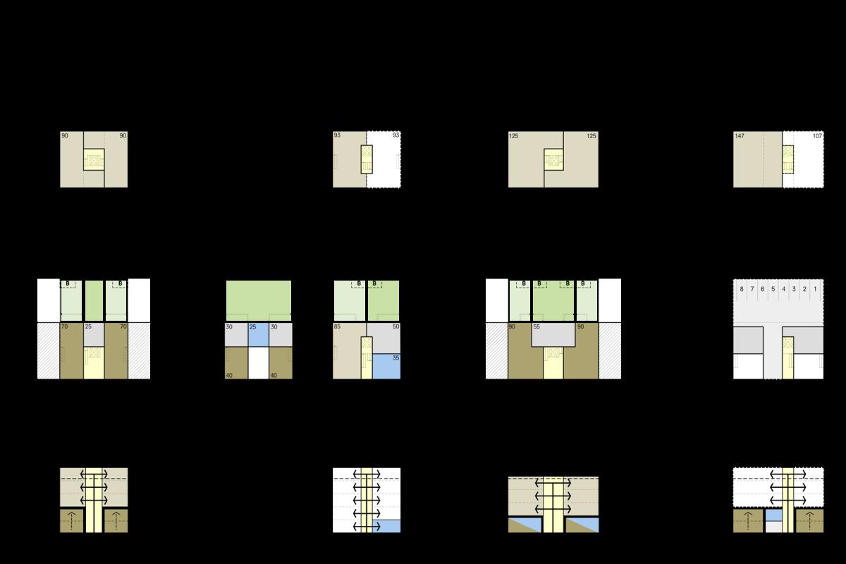 De Nijl Architecten - Kleinschalige appartementencomplexen