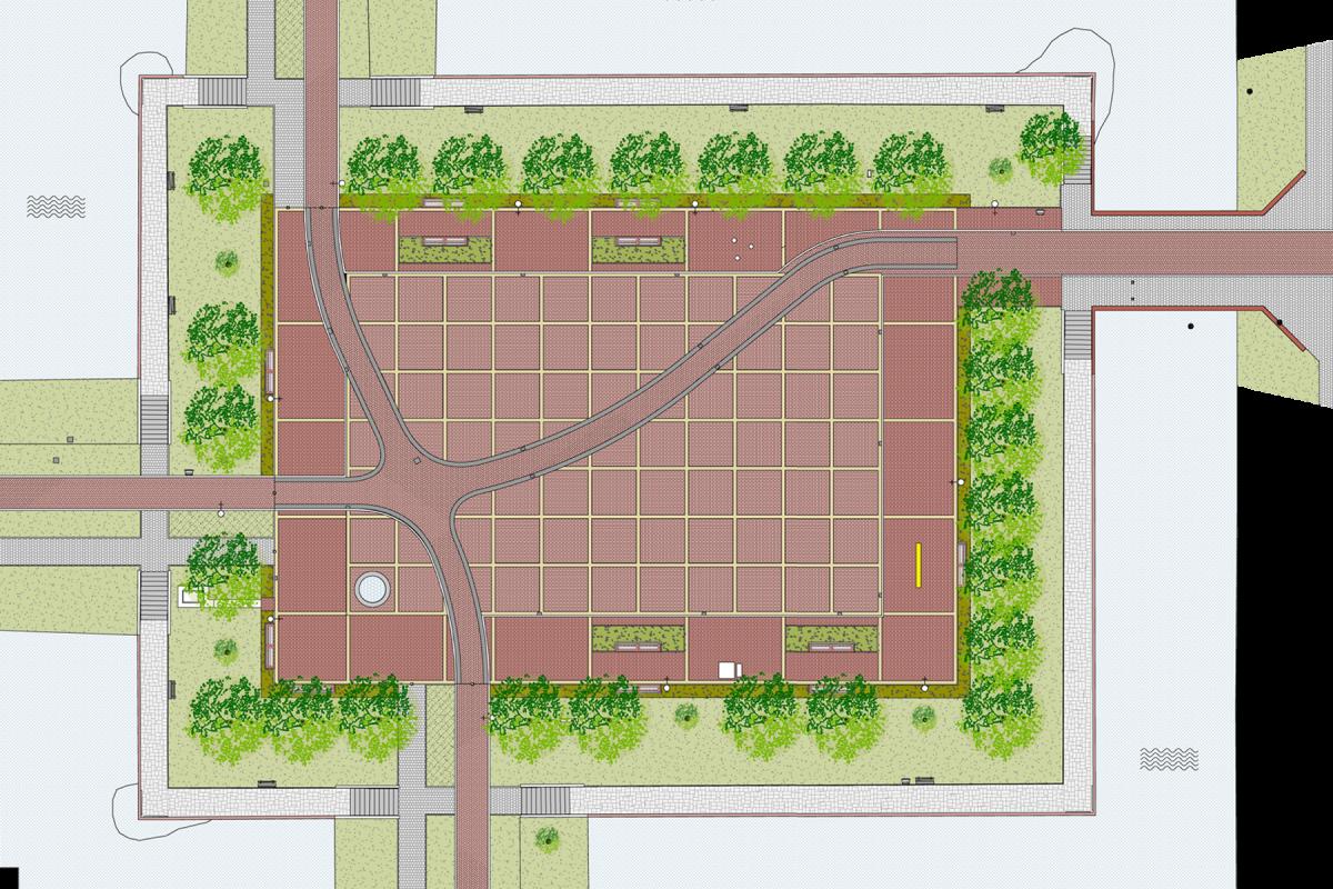 De Nijl Architecten - Herinrichting Kennedyplein