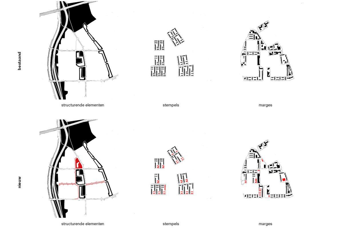 De Nijl Architecten - Stedenbouwkundig plan De Wijert